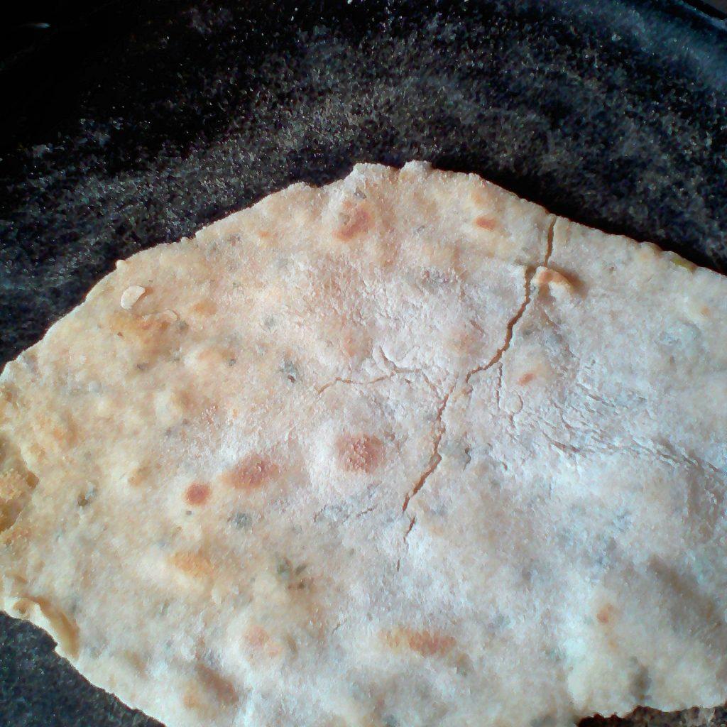 finished flatbread